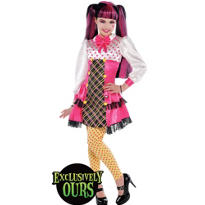 Girls Draculaura Costume Deluxe - Monster High