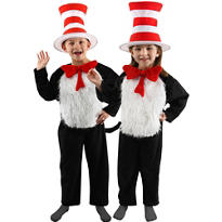 Child Cat in the Hat Costume Deluxe - Dr. Seuss