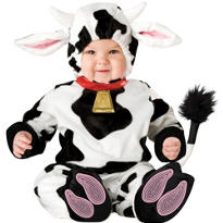 Baby Mini Moo Cow Costume Deluxe