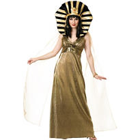 Adult Gold Cleopatra Costume