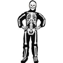 Boys Totally Skelebones Costume