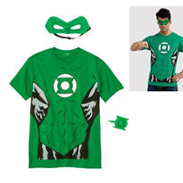 Male Green Lantern Costume Kit