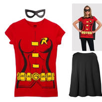 Female Robin Costume Kit