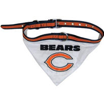 Chicago Bears NFL Dog Collar Bandana