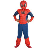 Boys Classic Spider-Man Muscle Costume