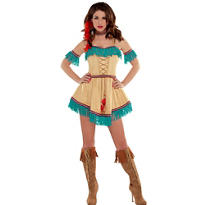 Adult Sexy Native American Costume