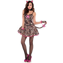 Adult Purrfect Playmate Sexy Cat Costume