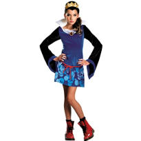 Girls Evil Queen Costume - Snow White