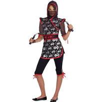 Teen Girls Sassy Ninja