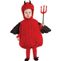 Toddler Plush Belly Lil Devil Costume