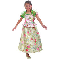 Girls Snow Flower Princess Costume Deluxe