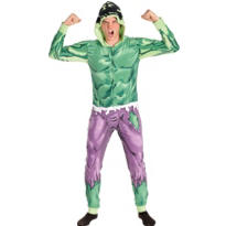 Adult Hulk One Piece Pajama