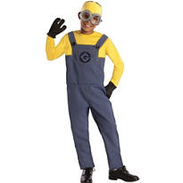 Boys Minion Costume - Despicable Me 2