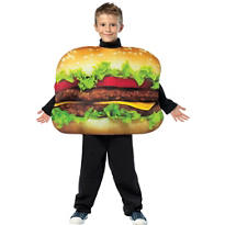 Boys Get Real Cheeseburger Costume