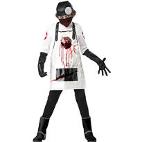 Boys Open Heart Surgeon Costume