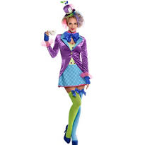 Adult Teatime Mad Hatter Costume