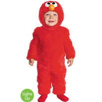 Toddler Boys Elmo Light Up Costume - Sesame Street