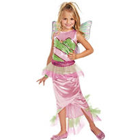 Girls Mermaid Flora Costume Deluxe - Winx Club