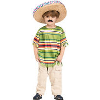 Toddler Boys Mexican Serape Costume