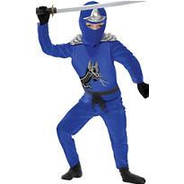 Boys Blue Ninja Avenger Costume Deluxe