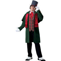 Adult Yuletide Gent Costume