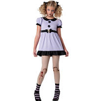 Girls Dead Doll Costume