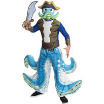 Boys Wash Buckler Costume - Skylanders