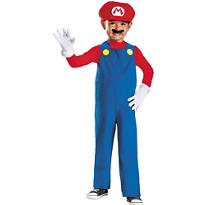 Toddler Boys Mario Costume - Super Mario Brothers