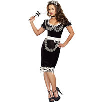 Adult Keep It Clean Maid Costume