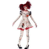 Adult Voodoo Doll Costume