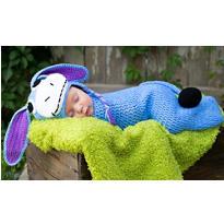 Baby Crochet Cocoon Donkey Costume