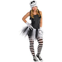 Adult Sassy Jack Skellington Costume - The Nightmare Before Christmas