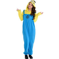 Adult Minion One-Piece Pajamas - Despicable Me