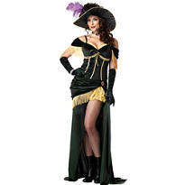 Adult Saloon Madame Costume