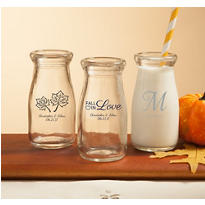 Personalized Glass Milk Bottles <br>(Printed Glass)</br>