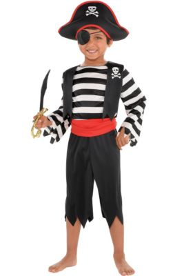 Boys Pirate Costumes - Halloween Pirate Costumes for Kids | Party City