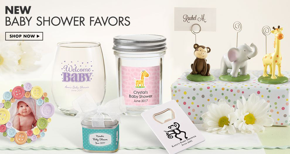 Unique Baby Shower Favors