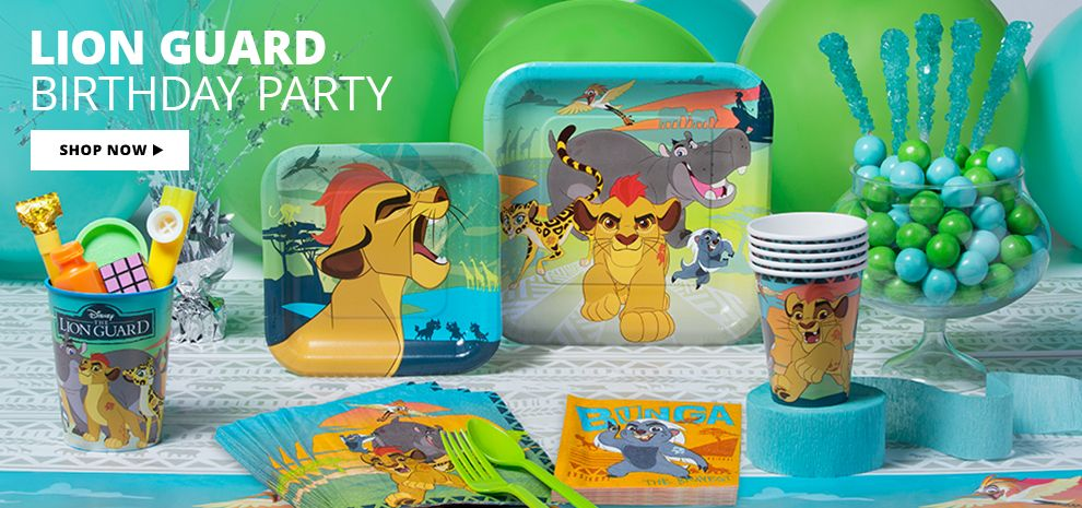 Lion Guard Birthday Party Supplies Shop Now