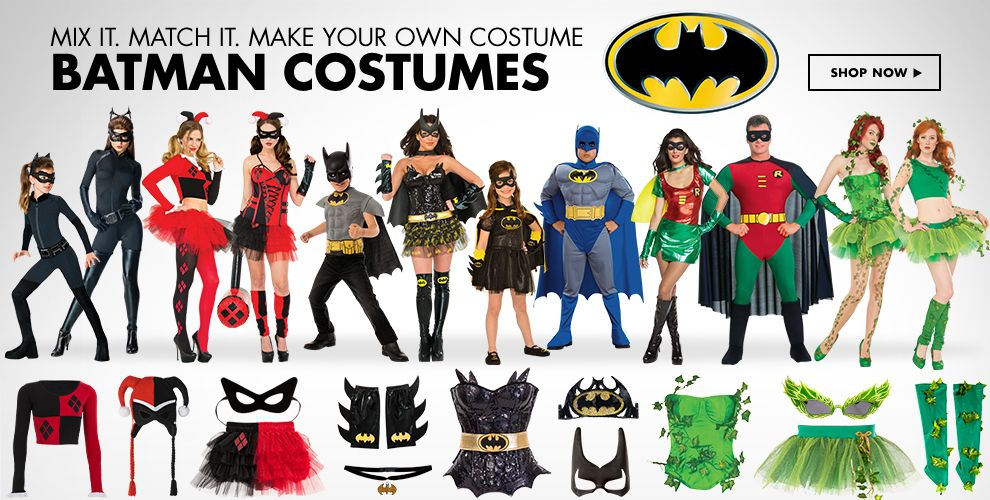 Shop Batman Costumes & Accessories