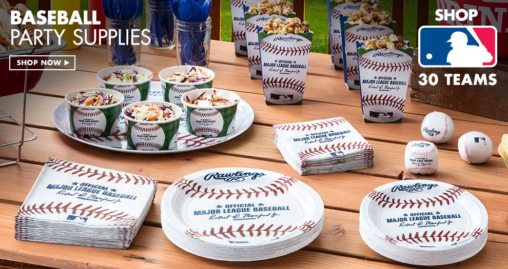 Baseball Party Supplies