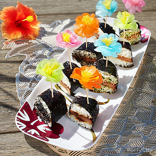 Aloha Spam Musubi Idea