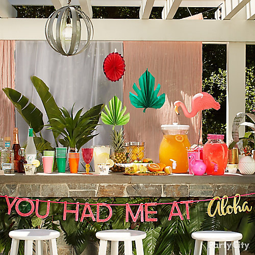 Aloha Tropical Drink Station
