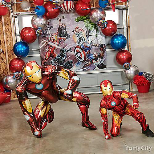 Avengers Balloon Ideas