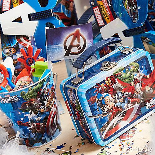 Avengers Birthday Favor Ideas