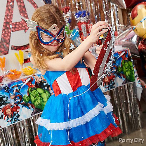 Avengers Kids Birthday Activities Idea