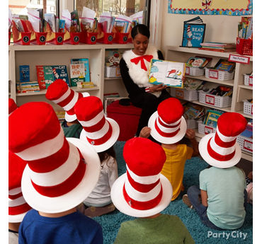 Dr Seuss Party Hats Idea