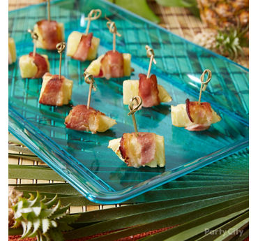 Easy Bacon Pineapple Wrap Idea