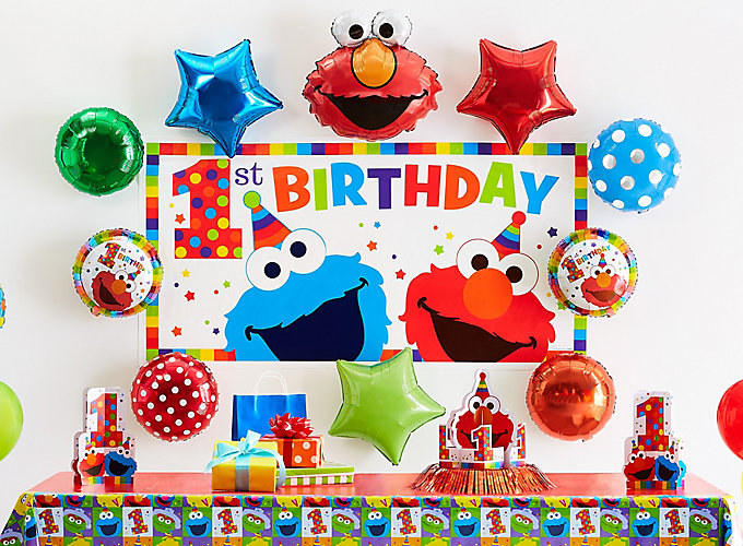 Elmo First Birthday Party Ideas
