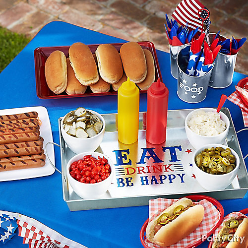 4th of July Block Party Food Idea