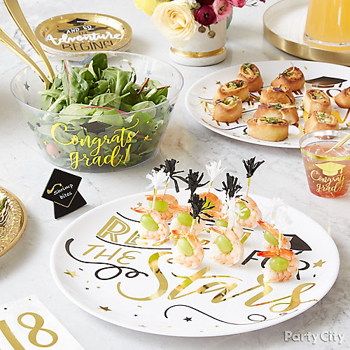 Graduation Party Appetizer Ideas